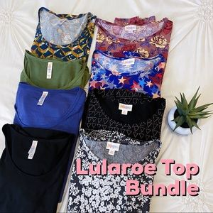 Lularoe 8-Piece Top Bundle Perfect T Classic T